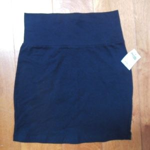Charlotte Ruse Knit Black skirt XS